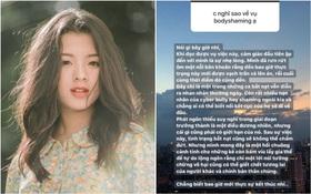 Hồng Khanh, gái út sinh năm 2004 của NSƯT Chiều Xuân nói về body-shaming trên MXH, suy nghĩ chín chắn thu hút sự chú ý