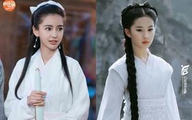 Bất ngờ cosplay Tiểu Long Nữ, Angela Baby bị so sánh với Lưu Diệc Phi nhưng động thái của Vu Chính mới đáng bàn