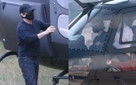 Choáng với độ chịu chơi của tài tử Tom Cruise, lái cả máy bay trực thăng chỉ để ăn trưa