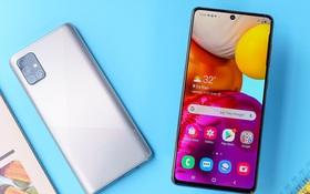 Galaxy A51 và A71 được cập nhật tính năng Chụp Một Chạm (Single Take), thêm tùy chọn màu Bạc Crush mới