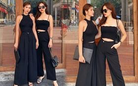 Cặp bạn thân Huyền Lizzie và Phanh Lee lên đồ xuống phố: Sang chảnh cả đôi, cô dâu nhà hào môn đặc biệt gây chú ý