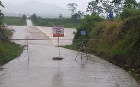 Bão số 2 gây mưa lớn ngập úng nghiêm trọng ở Nghệ An, nhiều địa phương bị chia cắt