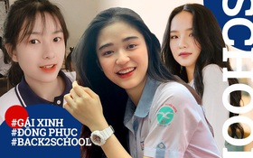 """Tăng mood mùa #Back2school với loạt hình """"nữ thần"""" đồng phục, chỉ muốn xin ngay 1 slot học cùng"""