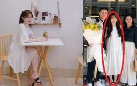 """Huỳnh Anh lại bị soi vóc dáng vì chiếc váy """"gây lú"""": Chụp thẳng nhìn như váy bầu, chụp nghiêng xinh hơn hẳn"""