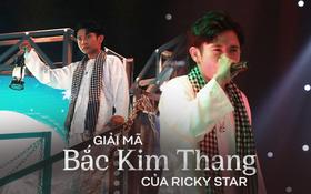 """Lạnh người câu chuyện tâm linh phía sau bản rap """"Bắc Kim Thang"""" của Ricky Star tại """"Rap Việt"""""""