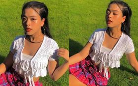 Con gái NSƯT Chiều Xuân ngày càng xinh đẹp và táo bạo hậu thừa nhận đã có bạn trai ở tuổi 16