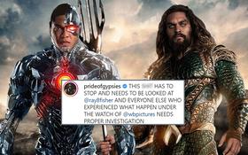 Aquaman sôi máu xác nhận bị đối xử tệ bạc ở Justice League, tố NSX nói điêu không chớp mắt