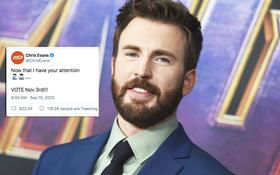 """""""Captain"""" Chris Evans trả lời ngắn mà cực khéo về vụ lộ ảnh 18+ chấn động thế giới, khiến dàn sao Hollywood thích thú"""