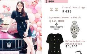 Bóc giá loạt outfit của Hương Giang từ khi hẹn hò Matt Liu: Cây nào cũng trăm triệu, đồng hồ gần tỷ đeo như cơm bữa
