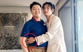 Dân tình náo loạn vì bức ảnh cuộc gặp lịch sử Kpop: 2 kỳ tích Billboard V (BTS) và PSY thân mật, nhưng cái tay cứ sai sai?