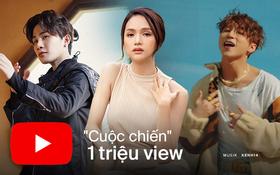 10 MV đạt 1 triệu view nhanh nhất Vpop: Jack vượt lên Sơn Tùng chiếm đến 4 vị trí, Độ Mixi nhanh hơn cả Hương Giang lẫn Erik