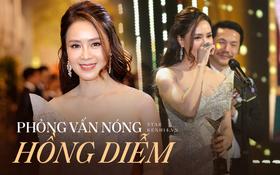 """Phỏng vấn nóng Hồng Diễm sau màn thắng đậm ở VTV Awards: """"Tôi không chán đóng với Hồng Đăng nhưng sợ khán giả sẽ cảm thấy chán"""""""