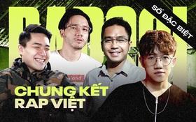 Cùng Quốc Anh Welax, Tùng Tôm, Hoàng Giang và Jay Bach bình luận trực tiếp trận Chung kết Rap Việt tại Rap Soi số đặc biệt!