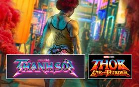 Thanh Sói tung logo phim nhưng dùng font y xì anh Thần Thor của Marvel?