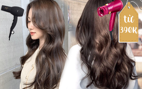 Mua ngay máy sấy ion giá từ 390K cho tóc bóng chuẩn Hàn