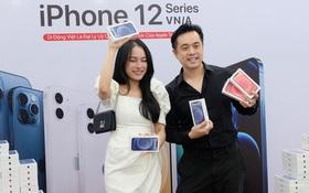 """iPhone 12 chính hãng mở bán tại Việt Nam, nhạc sĩ Dương Khắc Linh """"chốt đơn"""" luôn 4 chiếc, Bảo Thy, Ngô Kiến Huy cũng hào hứng khoe đặt hàng"""