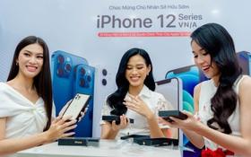 """Sao Việt đang chạy đua sắm iPhone mới, sau Ngọc Trinh, Bảo Thy... đến lượt 3 nàng Hậu cũng """"chốt đơn"""" iPhone 12 chính hãng"""