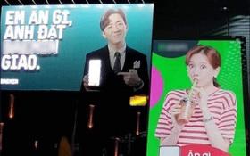 Vợ chồng Trấn Thành - Hari Won khiến dân tình cười mệt với tình huống trớ trêu khi quảng cáo cho 2 nhãn hàng là đối thủ của nhau