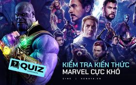 """Làm thử bài QUIZ cực nhằn về hội Marvel để coi bạn là """"fan cứng"""" hay """"fan mềm"""": Đố biết bố Thanos tên gì luôn á?"""
