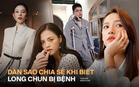 Thu Quỳnh, Cara, Linh Rin... gửi lời động viên khi biết Long Chun gặp phải khối u nguy hiểm