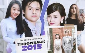 Throwback 2015: Chóng mặt với drama Midu - Phan Thành - Thuý Vi, Quỳnh Anh Shyn và B Trần chia tay vì người thứ 3?