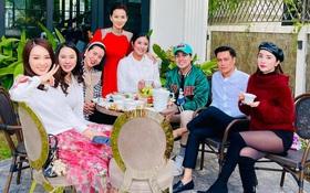 Hội bạn thân sao Hà Thành tụ họp ở biệt thự triệu đô của Lã Thanh Huyền, Quỳnh Nga - Việt Anh ra sao sau tin đồn hẹn hò?