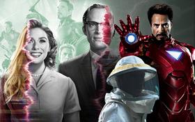 """""""Bóc"""" tất tật các chi tiết chấn động ở WandaVision: Hình ảnh nhỏ réo tên Iron Man đầy đau thương, bóng hình kinh dị ở cuối phim là ai?"""
