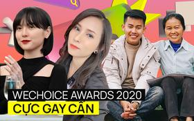 WeChoice Awards 2020 tranh nhau từng phiếu vote: Căng nhất ở Hot YouTuber của năm, Hải Tú dẫn đầu Rising GenZ nhưng 30 chưa phải Tết?