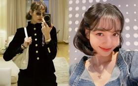 Lisa lần đầu lộ diện sau bão drama với YG: Trông ra dáng gái Pháp quá trời, đúng là sang trời Tây có khác!