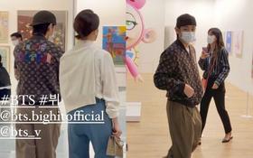 """HOT: Nam thần V (BTS) bị """"tóm sống"""" ảnh hẹn hò con gái chủ tịch tập đoàn khủng nhất nhì Hàn Quốc, HYBE phản ứng bất ngờ"""