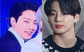 Jungkook (BTS) vừa chấm nhẹ 1 điểm nhấn gần môi đã làm fan phát cuồng, leo thẳng top trending vì quá quyến rũ!
