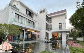Nguyễn Trần Trung Quân hé lộ cơ ngơi tại Hà Nội: Biệt thự diện tích khủng, nhìn hồ cá Koi là biết chủ giàu thế nào