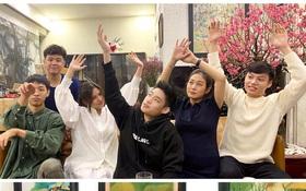 Huyme khoe ảnh gia đình dịp Tết, dân mạng trầm trồ vì visual của cả nhà ai cũng đẹp từ nhỏ, học hành giỏi giang ra trò