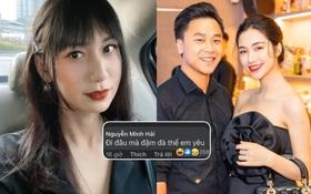 """Bạn trai Hoà Minzy khiến netizen tá hoả khi gọi Lynk Lee là """"em yêu"""", nữ ca sĩ chuyển giới đáp lại cực thẳng thắn"""