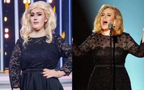 Lynk Lee gây choáng khi hóa thân thành Adele phiên bản lỗi với đôi tay không hề giả trân