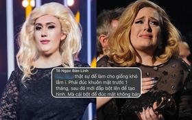 Bị cho là cosplay để body shaming Adele, Lynk Lee có luôn động thái phản hồi