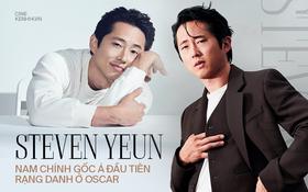 """Steven Yeun: Từ """"biểu tượng sex"""" The Walking Dead đến nam chính gốc Á đầu tiên được đề cử Oscar với Minari"""