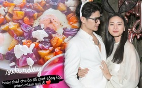 """""""Cẩu lương"""" của Huy Trần với Ngô Thanh Vân: Cứ cuối tuần là chăm sóc ăn uống tận răng, nhắn nhủ tình cảm thấy ghen tỵ quá đi!"""