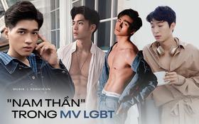 """Có rất nhiều nam thần từng đóng MV LGBT: Người từng là """"tình tin đồn"""" của Hương Giang, người là Quán quân bị """"ném đá"""""""