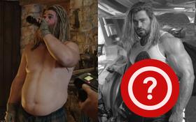 Nam thần Chris Hemsworth ở hậu trường Thor 4 đẹp muốn ngã khuỵu, nhưng cái bụng mới thu hút sự chú ý!
