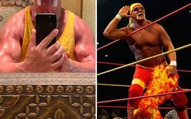 """Huyền thoại Hulk Hogan sở hữu bắp tay cực khủng dù đã gần thất thập, tiết lộ số trọng lượng """"điên rồ"""" có thể nâng thành công"""
