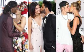 Sao Hollywood hôn hít ở thảm đỏ: Selena và vợ chồng Justin đối lập, Cardi B phản cảm gây sốc, Brad Pitt chưa đỉnh bằng Tom Cruise