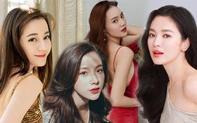 Vì sao các mỹ nhân hàng đầu showbiz Hàn - Việt - Trung - Thái rất hiếm khi cắt mái?