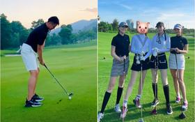 Matt Liu khoe ảnh đi đánh golf, chính là chỗ Hương Giang và hội chị em nổi tiếng vừa check-in?