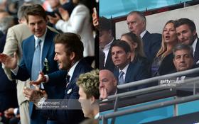 Dàn sao đổ bộ Chung kết Euro 2020: David Beckham - Tom Cruise thân mật gây bão, Harper xinh xắn át cả siêu mẫu Kate Moss