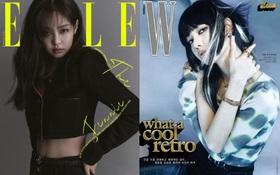 BLACKPINK ''đại chiến'' bìa tạp chí: Muốn mất máu vì Jennie khoe bụng số 11, nhưng nhìn tóc Nhật hớp hồn của Lisa đi!