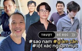 3 màn giảm cân ngoạn mục của sao nam Vbiz: Mr.Siro, Quang Huy nhẹ đi hàng chục cân nhưng vẫn chưa choáng bằng Hà Anh Tuấn