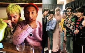 """Khung hình """"gây nổ"""" của sao Hàn và quốc tế: BTS - G-Dragon toàn bạn khủng, ghen tị vì Justin hôn Dara, Loki thân mật với Tiffany"""