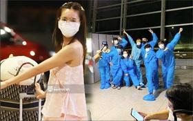 Hình ảnh giúp Ninh Dương Lan Ngọc thanh minh cho vụ tranh cãi mặc đồ ngủ ra sân bay?