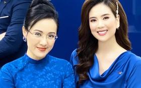 """Hoa khôi nhà đài đọ sắc với BTV Hoài Anh, """"Thuý Kiều - Thuý Vân"""" của VTV ai sẽ chiếm spotlight đây?"""